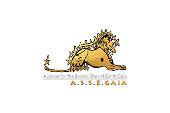 Alliance for the Sacred Sites of Earth Gaia Logo