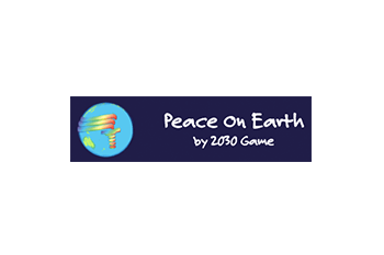 Peace on Earth by 2030 Game Logo
