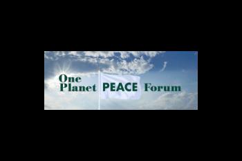One Planet Peace Forum Logo