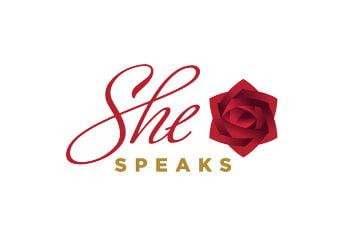 She Speaks Logo