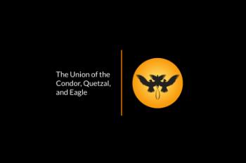 The Union of the Condor, Quetzal, and Eagle Logo